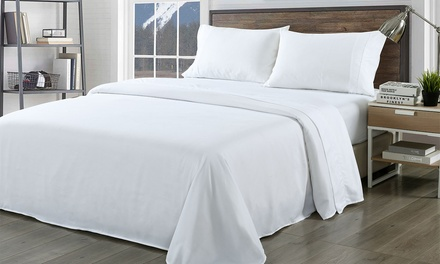 1000TC Bamboo Rich Sheet Set and Quilt Cover Set Combo: Double ($49), Queen ($55) or King ($59) (Don't Pay Up To $368)