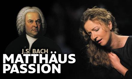 Ticket voor de Matthäus Passion van Bach o.l.v. dirigent Pieter Jan Leusink op 16 locaties in Nederland