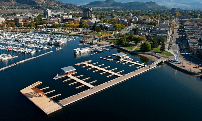 Downtown Marina - Kelowna: Up to Three or Five Hours of Boat Moorage at Downtown Marina (50% Off)