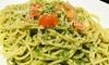 パスタランチ|サラダ、バゲット、ドリンクバー付
