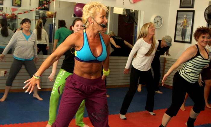 Knock Out Fitness - Agawam Town: 10 or 20 Zumba, Kickboxing, Pilates, or Boot-Camp Classes at Knock Out Fitness (Up to 59% Off)
