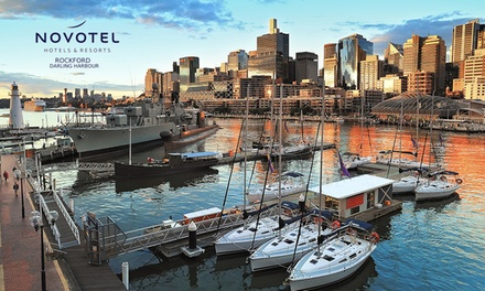 Darling Harbour, Sydney: One Night for Two with Breakfast, Wine and Late CheckOut at Novotel Sydney Rockford