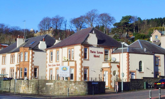 Twin Lions Hotel Edinburgh 1 To 3 Nights For Two