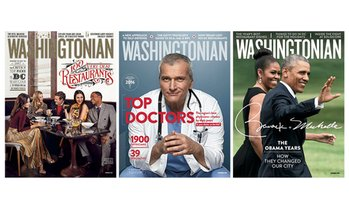 "56% Off Subscriptions to ""Washingtonian"""