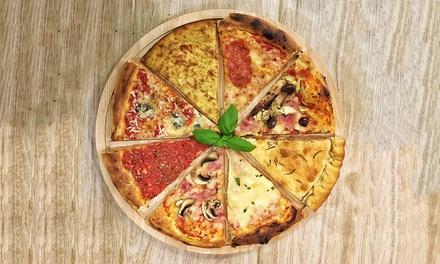 Włoska pizza w kawałkach do wyboru