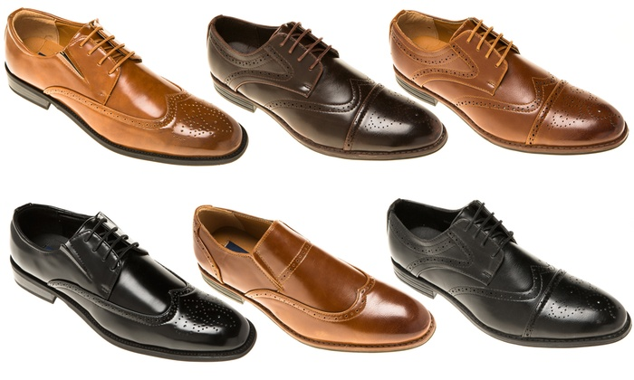 Quentin Ashford Men's Oxford Dress Shoes