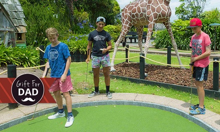 18 Holes of Safari or T Rex Mini Golf   One ($8), Two ($16) or Six People ($48) at Liliputt Mini Golf (Up to $90 Value)