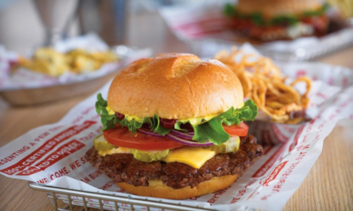Smashburger - Boynton Beach: $6 for $12 Worth of Burgers and American Food at Smashburger