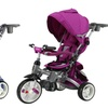 Rotating Seat Tricycle and Stroller in One