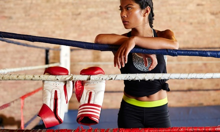 One or Two Months of Kickboxing, Tactix Conditioning, Tabata or Kali Classes at Tactix Gym (Up to 81% Off)