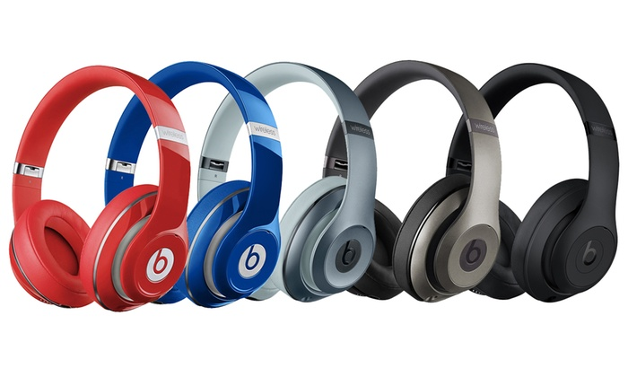 Beats By Dr Dre Studio 2 Wireless Noise Cancelling Headphones New Groupon