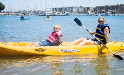 image for One- or Two-Hour One or Two People Kayak Rental (Up to 47% Off)