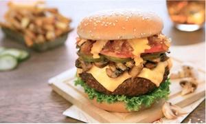 La Cuisine Du Burger: 2 menus burgers avec frites et boissons au choix à 19,90 € au restaurant La Cuisine Du Burger