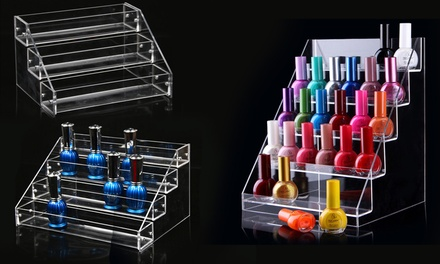 Nail Polish Display Stand: Three  ($15), Four  ($19) or Five Tier ($25)