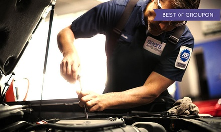 Conventional, Synthetic Blend, or Full-Synthetic Oil Change at Sears Auto Centers