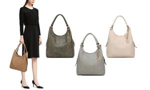 MKF Collection April Designer Hobo Shoulder Bag by Mia K. Farrow