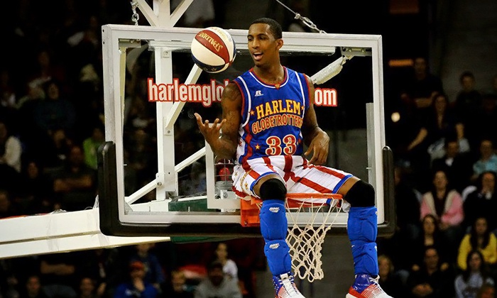 Harlem Globetrotters - Jacksonville Veterans Memorial Arena: Harlem Globetrotters Game on Friday, February 28, at 7 p.m.(Up to 42% Off).Two Options Available.