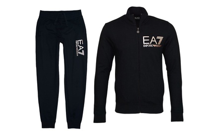 Armani EA7 Tracksuit 2017 newest men's  sports suit