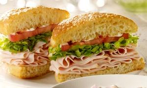 Schlotzsky's Deli - Newport News: Sandwiches at Schlotzsky's Deli–Newport News (50% Off). Two Options Available.