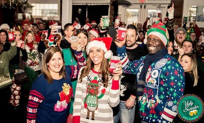 image for One or Two VIP Tickets to Ugly Sweater <strong>Bar</strong> Crawl on December 9, 2017 in Austin (Up to 35% Off)