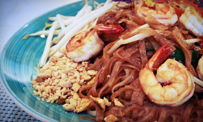 Bhan Baitong - Lake Forest: Thai Food at Bhan Baitong (Up to 52% Off). Two Options Available.