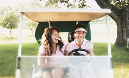 18 Holes of Golf for Two or Four with Carts and Drinks at Paganica Golf Course (Up to 58% Off)