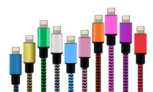 (PromotionHigh-Tech) Câble tressé Chargement iPhone -86% réduction
