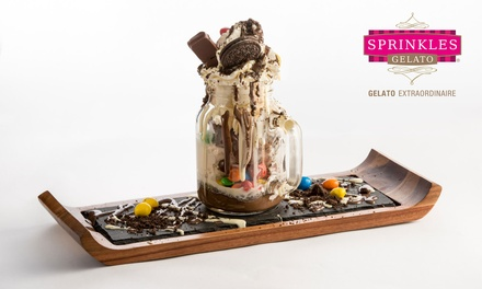 Two or Four Desserts in a Jar at Sprinkles Gelato Basildon (Up to 33% Off)