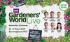 BBC Gardeners' World Live - The NEC: BBC Gardeners' World Live, Afternoon Tickets, 14-17 June 2018