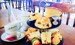 Romsey World of Water/ Water Garden Cafe: Afternoon Tea for Two or Four at Romsey World of Water