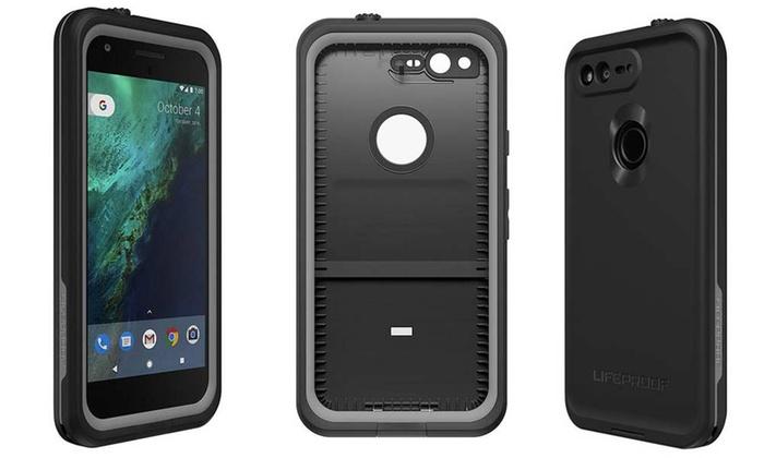 Lifeproof Fre Phone Case For Google Pixel ASPHALT BLACK Google Pixel 5