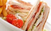 Menú para 2 o 4 con hamburguesa o sándwich o bocadillo y batido desde 16,90 € en Ohlala