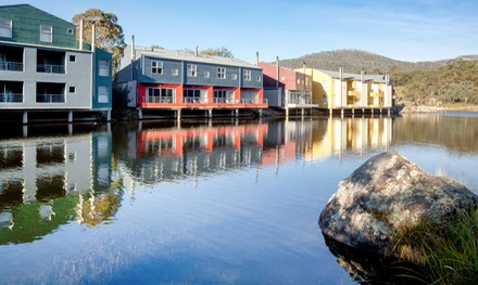 Snowy Mountains: 3 or 4 Nights or 4 People with Breakfast, Wine and Spa Discount at Lake Crackenback Resort & Spa