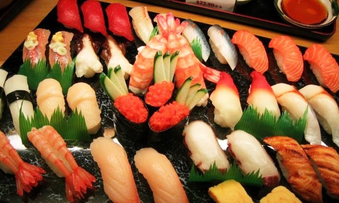 All you can eat sushi mika japanese cuisine bar groupon - Mika japanese cuisine bar ...