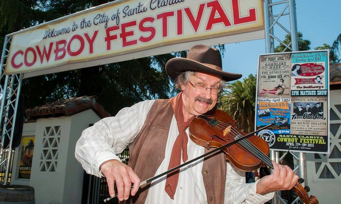 City of Santa Clarita - Santa Clarita: City of Santa Clarita Cowboy Festival Visit for Two or Four on April 23-24 (50% Off)