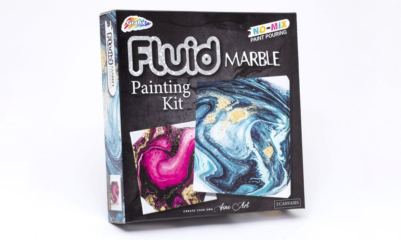 One or Two RMS Fluid Marble Painting Kits