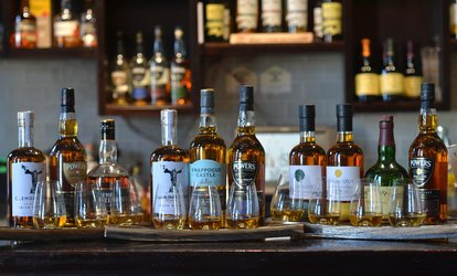 Classic, Mid-Range or Top-Shelf Whiskey Tasting Session for One or Two at The Irish Whiskey Museum (Up to 39% Off*)