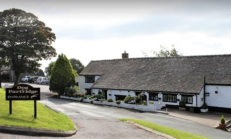 Peak District: 1-2 Nights for 2 with Breakfast and Optional Dinner and Hot Tub Use at The Dog and Partridge Country Inn