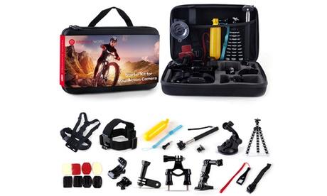 26-Piece GoPro Hero Camera Accessory Kit for 1, 2, 3, 3+, 4/5 abb9cdac-e22a-4f7b-865e-3a09127c85f8