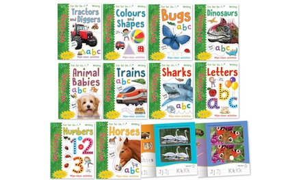 Write and Wipe 10-Book Get Set Go Writing Collection