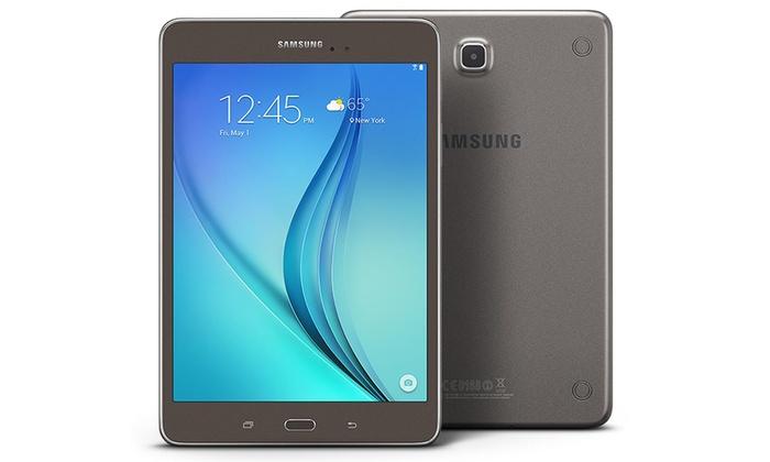 """Samsung Galaxy Tab A 16GB 8"""" WiFi Tablet (Refurbished): Samsung Galaxy Tab A 16GB 8"""" WiFi Tablet with Android Lollipop (Refurbished)"""