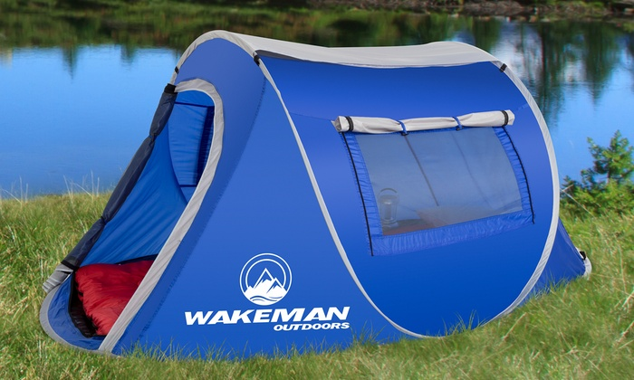 Pop-Up 2 Person Tent Pop-Up 2 Person Tent ... & Pop-Up 2 Person Tent | Groupon Goods