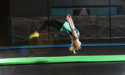Two or Four 60-Minute Open Jump Passes, or Summer Season Pass for One at Flight Trampoline Park (Up to 49% Off)