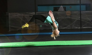 Up to 50% Off Jump Passes at Flight Trampoline Park at Flight Trampoline Park, plus 6.0% Cash Back from Ebates.