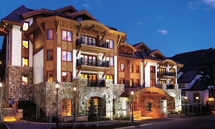 Four Diamond–Rated Vail Hotel with Draft Cocktails and Spa Credit