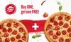 2-für-1 Pizza-Angebot bei Pizza Hut