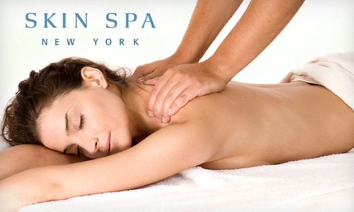 Skin Spa New York - Multiple Locations: Massages and Customized Facials at Skin Spa New York (Up to 60% Off). Three Options Available.