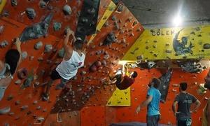 Golem Escalada: Clase de escalada para 1, 2 o 4 personas con instructor + equipo en Golem Escalada