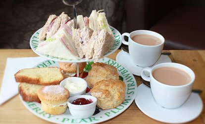 image for Afternoon Tea for Two or Four at Whilton Locks Garden Village - Canalside Restaurant