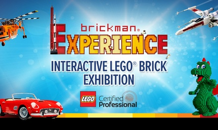 Brickman Experience Interactive LEGO® Brick Exhibition, 1720 and 2327 March, Leicester